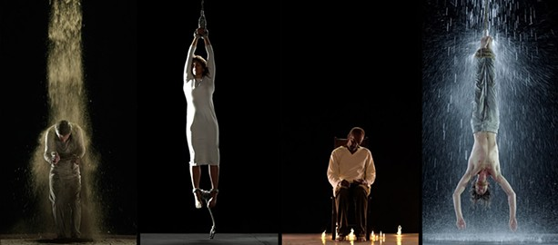 "Still from Bill Viola's ""Martyrs (Earth, Air, Fire, Water)."" - PHOTO PROVIDED"