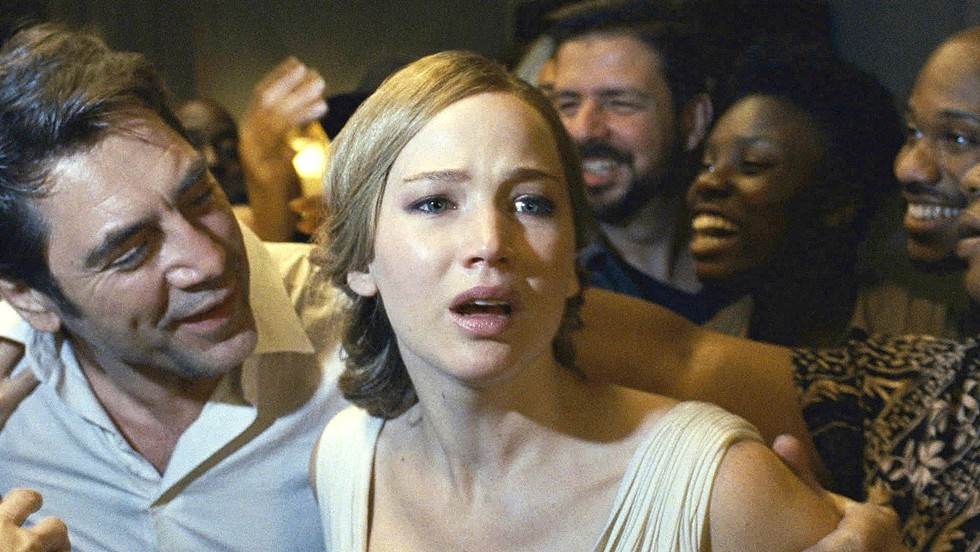 "Jennifer Lawrence and Javier Bardem in ""mother!"" - PHOTO COURTESY PARAMOUNT PICTURES"