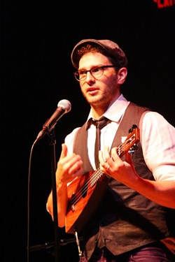 Matt Griffo performed at SOTA on Thursday. - PHOTO BY FRANK DE BLASE