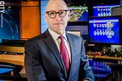 """WHAM 13 General Manager Chuck Samuels: """"""""Never once has any company told us how to cover or spin local news."""" - FILE PHOTO"""