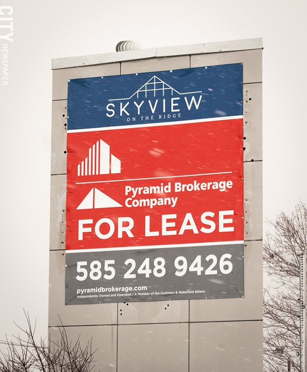 The new owners of the former Medley Centre, which will now be called Skyview on the Ridge, are looking for commercial tenants, not necessarily new stores. - PHOTO BY RYAN WILLIAMSON