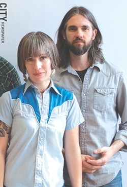 Rita and Ben Proctor of The Crooked North - PHOTO BY JACOB  WALSH