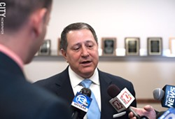 State Assembly Majority Leader Joe Morelle announced this morning that he's running for the late Louise Slaughter's House seat. - PHOTO BY JEREMY MOULE