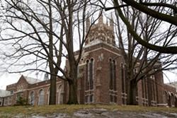 The Colgate Rochester Crozer Divinity School property is a city historic landmark. - FILE PHOTO