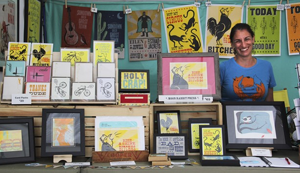 Around 365 artists participate in the festival each year. - PHOTO PROVIDED