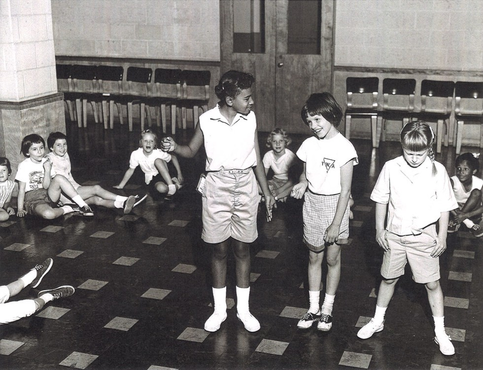 Children at the YWCA in 1959: The Y's offerings used to include fitness classes for children and adults and a summer camp for girls. - PHOTO PROVIDED