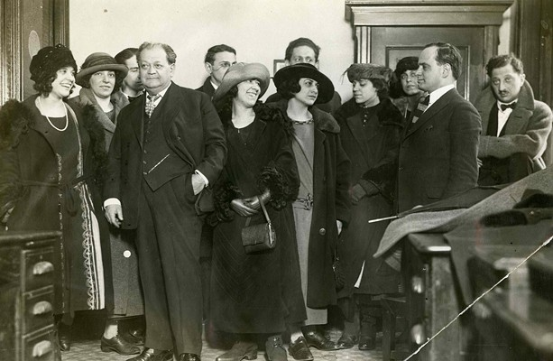 """""""Indecent,"""" which premieres March 30 in Rochester, is based on the true story of the first lesbian kiss on Broadway and the arrest for obscenity of the cast of """"God of Vengence"""" (pictured). - PHOTO PROVIDED"""