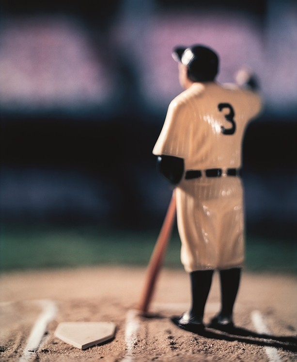"""Untitled 2003 image from David Levinthal's """"Baseball"""" series of photographs. - PHOTO COURTESY GEORGE EASTMAN MUSEUM"""