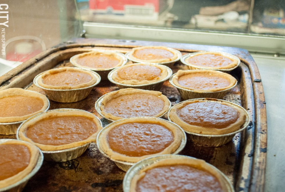Mini pies at Sweet Potato Pie Factory & More. - PHOTO BY JACOB WALSH