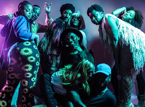 Revelers at 2017 Black Pride. - PHOTOGRAPH BY ADRIAN ELIM