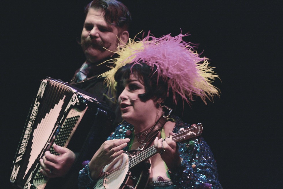 Cleveland-based duo Pinch and Squeal return to Rochester Fringe this year. - PHOTO BY FRANK DE BLASE
