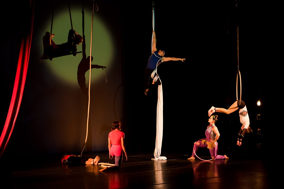 """""""Elemental Guardians"""" at SOTA's Main Stage Theatre. - PHOTO BY JOSH SAUNDERS"""