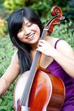 Publick Musick's season opener on October 13 features cellist Beiliang Zhu. - PHOTO PROVIDED