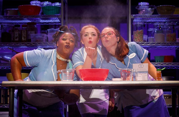 "RBTL brings the recent Broadway hit ""Waitress"" to the Auditorium Theatre in June. - PHOTO PROVIDED"