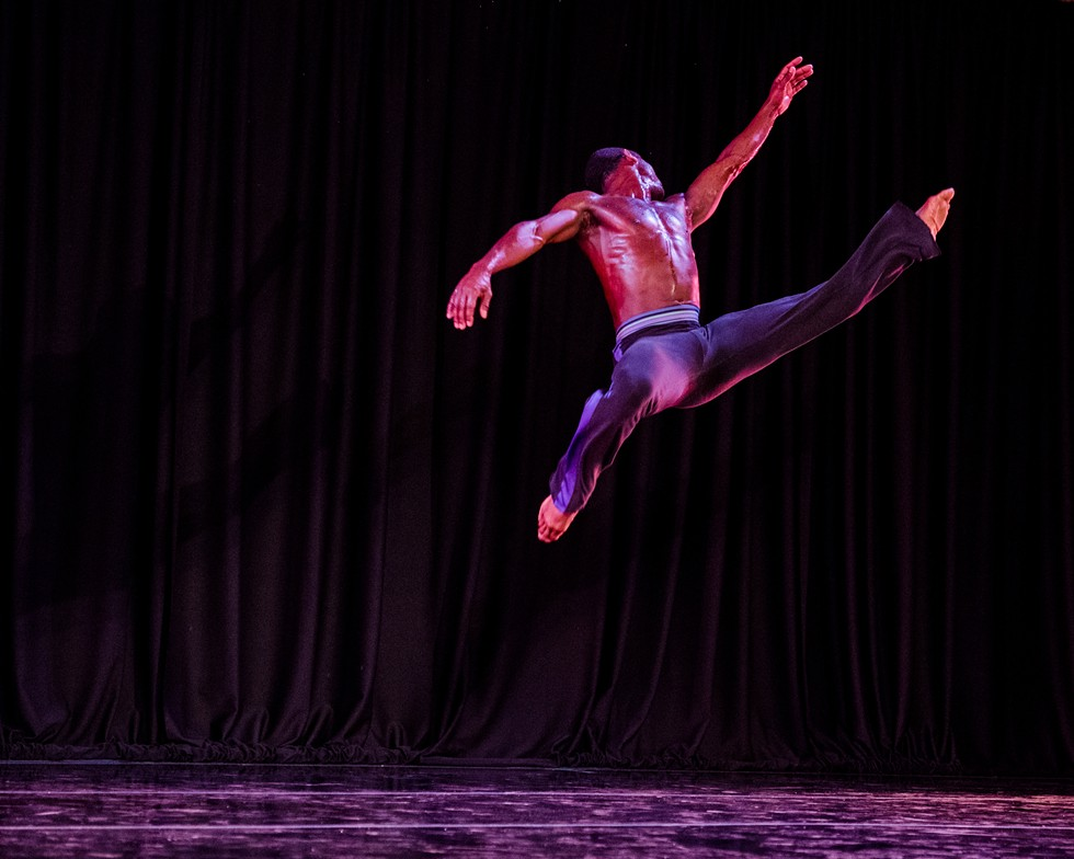 Garth Fagan Dance. - PHOTO BY JOSH SAUNDERS
