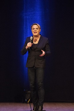 Eddie Izzard. - PHOTO BY ASHLEIGH DESKINS