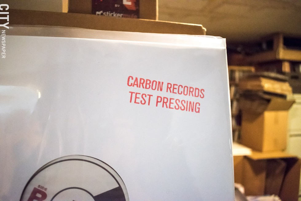 Test pressing from Gotta Groove Records. - PHOTO BY JACOB WALSH