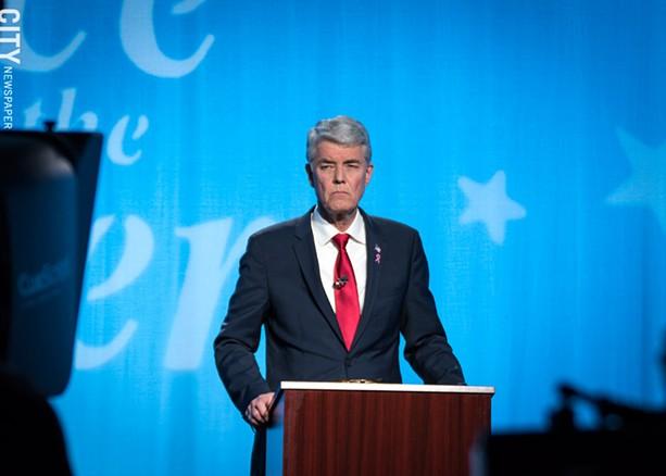 Republican Jim Maxwell - PHOTO BY RYAN WILLIAMSON
