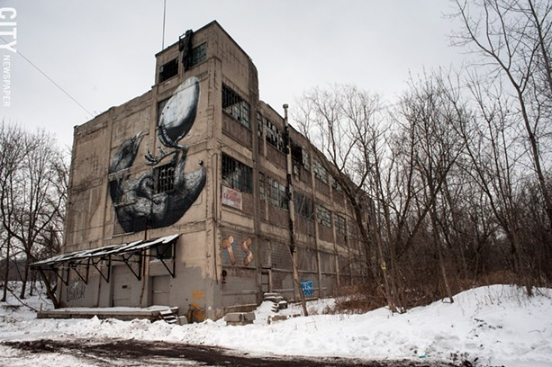 The Vacuum Oil site on Flint Street in southwest Rochester. - FILE PHOTO