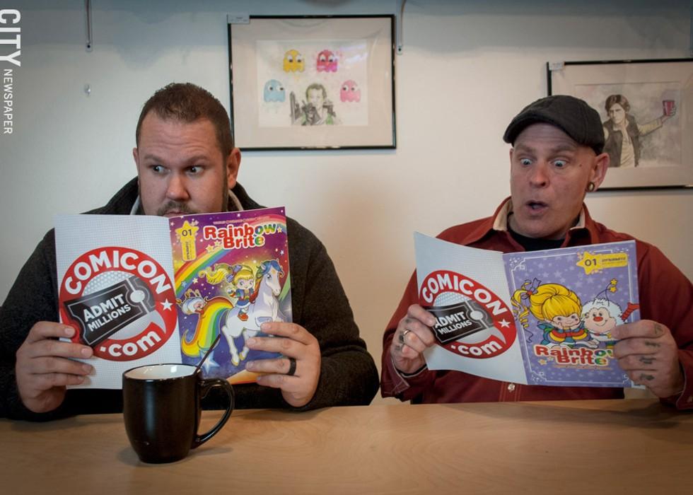 Vinnie Paulino and Todd Gursslin - PHOTO BY RYAN WILLIAMSON