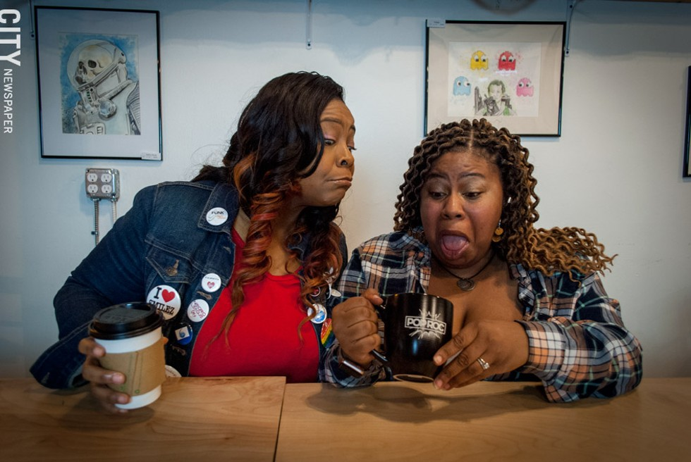 Yolanda Smilez and Juicy LaCarla Carter - PHOTO BY RYAN WILLIAMSON
