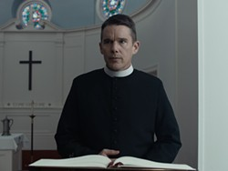 """Ethan Hawke in """"First Reformed."""" - PHOTO COURTESY A24"""