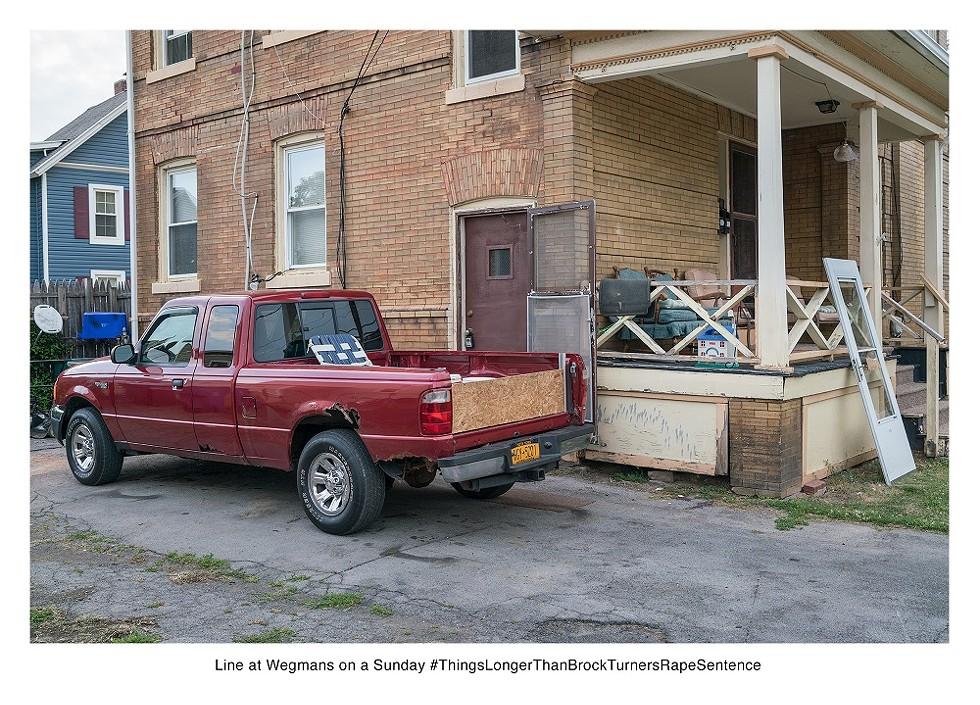 A bleak quip for a bleak situation. - PHOTO COURTESY LARSON SHINDELMAN