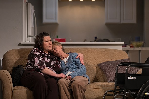 "Toni DiBuono and Susanne Marley in Geva Theatre Center's production of ""The Humans."" - PHOTO BY GOAT FACTORY MEDIA ENTERTAINMENT"