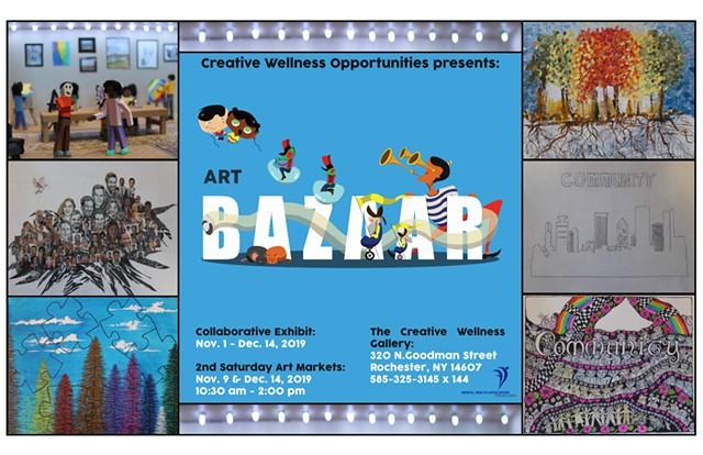 Collaborative Art Exhibit & Art Bazaar