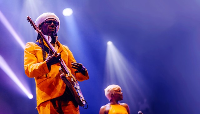 Disco musician Nile Rodgers of Chic.