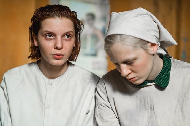 """Viktoria Miroshnichenko and Vasilisa Perelygina in a scene from """"Beanpole."""""""