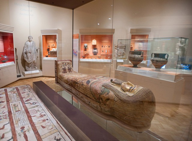 The Memorial Art Gallery's permanent collection of more than 12,000 works of art and cultural objects spans 5,000 years of history, and you can explore it from home via the MAG's website.