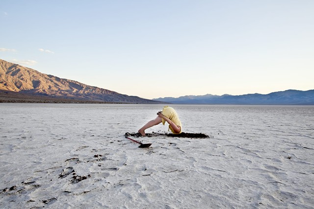 """Still from Jenna Maurice's """"Interacting With The Lowest Point in North America."""""""