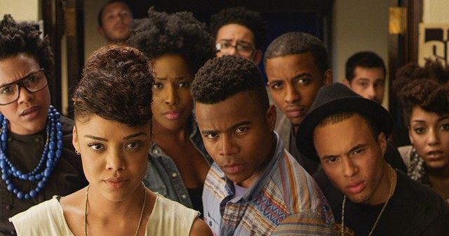"""A scene from Justin Simien's 2014 film """"Dear White People."""""""