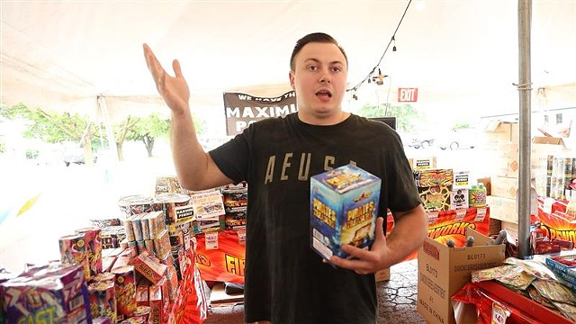 Jason Guck, of Barely Legal Fireworks, says there is a lot of confusion about legal fireworks like his and illegal fireworks.