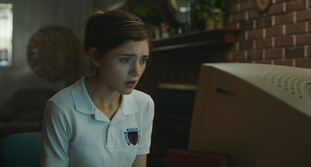 "Natalia Dyer in the coming-of-age comedy ""Yes, God, Yes."""