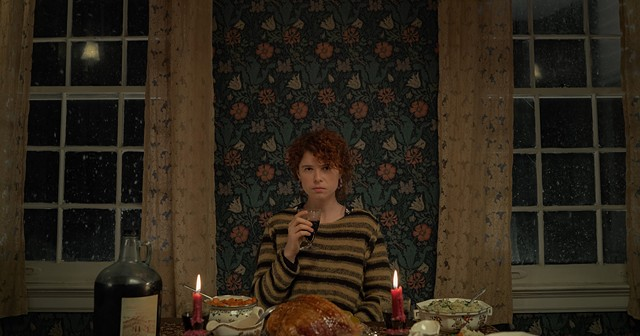 """Jessie Buckley in Charlie Kaufman's """"I'm Thinking of Ending Things."""""""