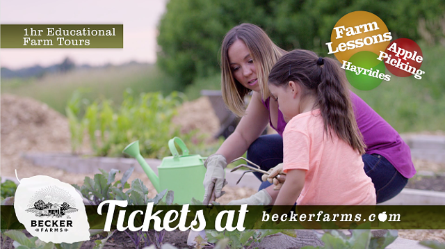 Explore with education at Becker Farms