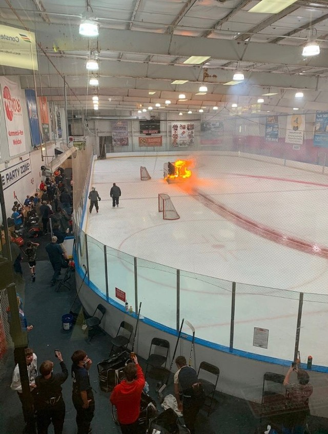 Halloween Events Rochester Ny Wednesday, October 31, 2020 Flaming Zamboni is 2020 in a nutshell, rink manager says | News