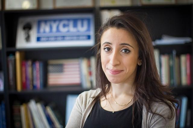 Iman Abid, director of New York Civil Liberties Union's Genesee Valley Chapter.