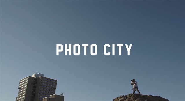 """A screen shot from """"Photo City,"""" a documentary about Rochester's iconic place in photographic history."""