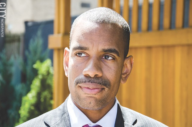 """City Council member Malik Evans: """"I don't believe in exercises in futility."""""""