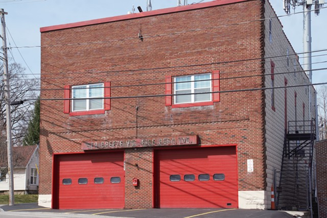 The Sea Breeze Volunteer Fire Department in Irondequoit.
