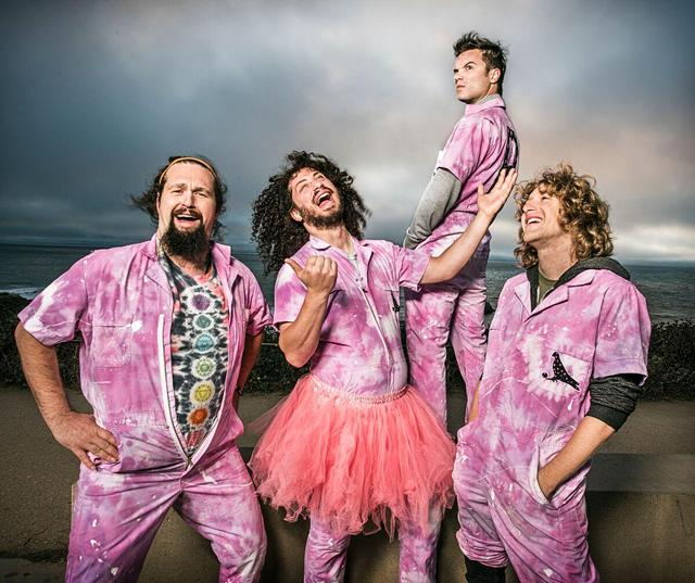 Baltimore jam band Pigeons Playing Ping Pong will open the 2021 Five Star Party in the Park concert series on July 14.