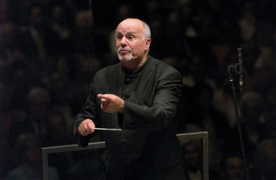 David Zinman (pictured) returns to Rochester on Friday, April 12 to conduct violinist Joshua Bell and the Eastman Philharmonia. - PHOTO BY PRISKA KETTERER