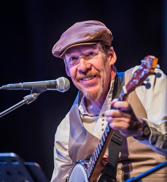 Rochester folk musician Joe Dady died on Saturday, May 18 at the age of 61. - PHOTO BY AARON WINTERS