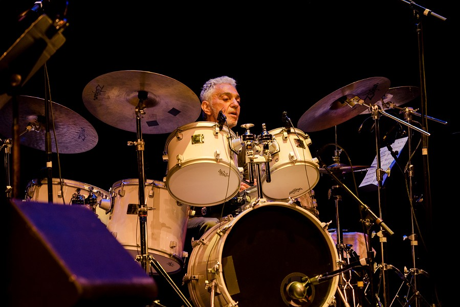 Rochester's own Steve Gadd and his band were the opening-night headliners on Friday at the 2019 CGI Rochester International Jazz Festival. - PHOTO BY JOSH SAUNDERS