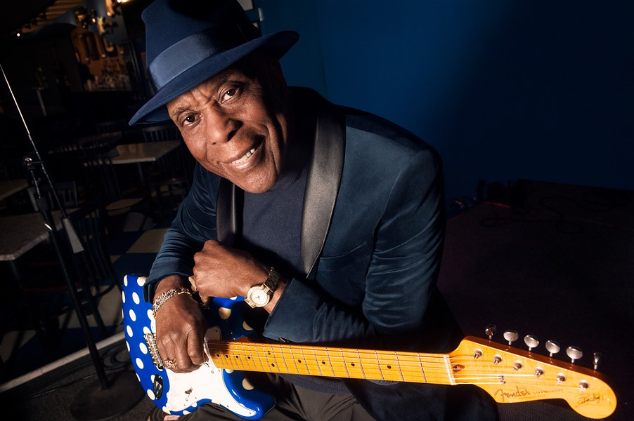 """Buddy Guy, one of Rolling Stone's """"100 Greatest Guitar Players of All Time"""" will play Kodak Center on November 9. - PHOTO BY PAUL NATKIN"""