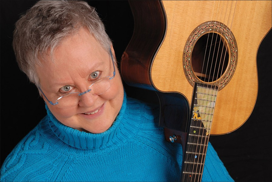 Folk singer-songwriter Christine Lavin returns to Rochester for a concert at Café Veritas on Saturday, November 2. - PHOTO BY IRENE YOUNG