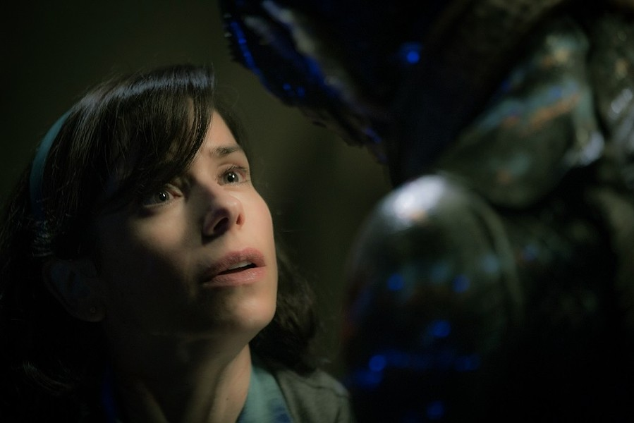 """Sally Hawkins in Guillemo del Toro's 2017 film, """"The Shape of Water."""" A casting call for extras is now open for del Toro's new picture, """"Nightmare Alley,"""" which will be shot this February in Buffalo. - PHOTO COURTESY FOX SEARCHLIGHT"""